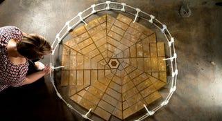 Illustration for article titled La NASA trabaja en paneles solares inspirados en el origami
