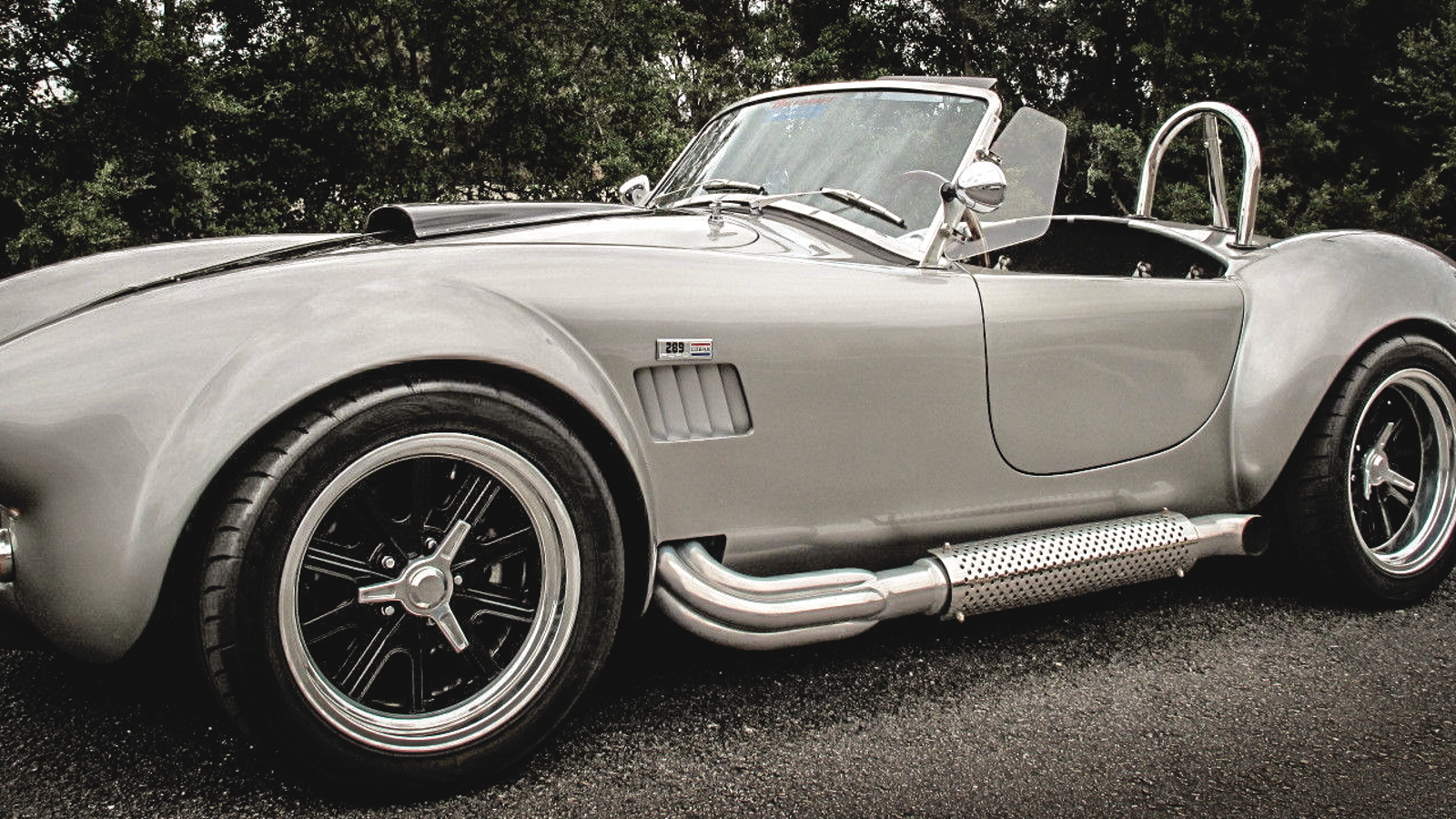 You can buy this insane shelby cobra for the price of a hateful minivan