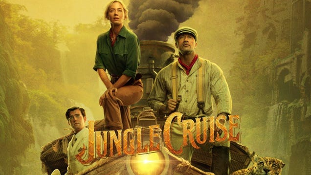 Emily Blunt and the Rock Drip With Charismatic Chemistry in Disney s Jungle Cruise