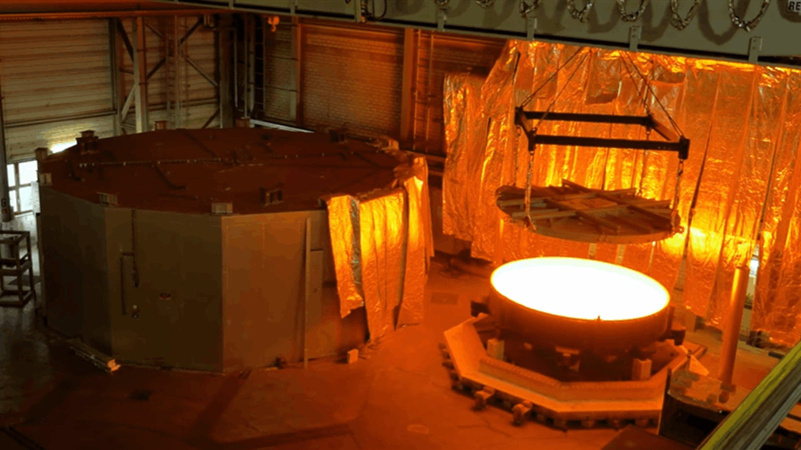 El espejo del telescopio más grande del mundo es tan descomunal que tardará un año en enfriarse