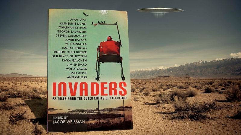Illustration for article titled Invaders turns a bevy of acclaimed literary authors loose on science fiction