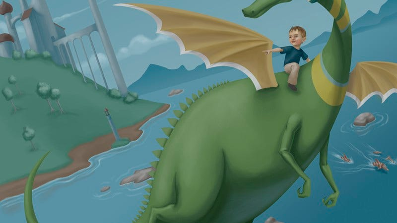 "Illustration for article titled There's an official ""Puff, The Magic Dragon"" restaurant in the works"