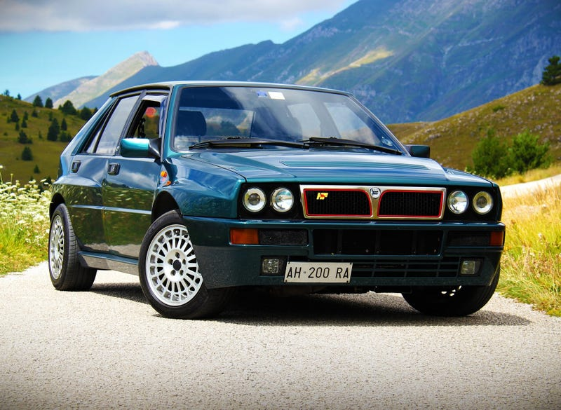 Illustration for article titled I Saw A Lancia Delta Integrale Today
