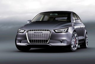 Illustration for article titled Audi A1 Sportback Concept Officially Powered By 1.4-Liter TSI Hybrid