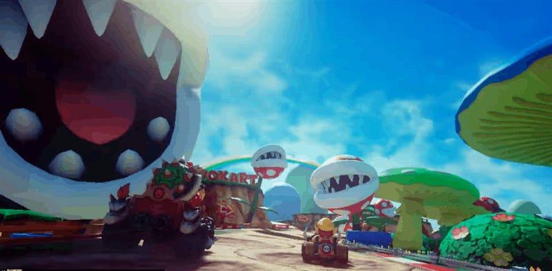 Mario Kart VR Looks Nuts