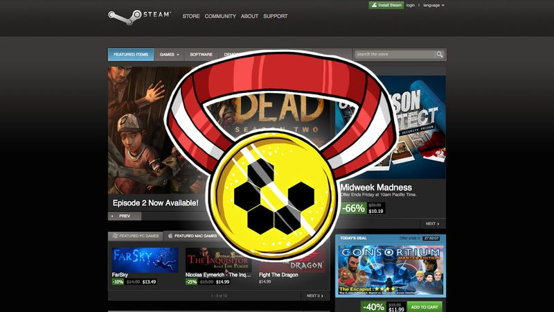 Illustration for article titled Most Popular Resource for PC Games: Steam