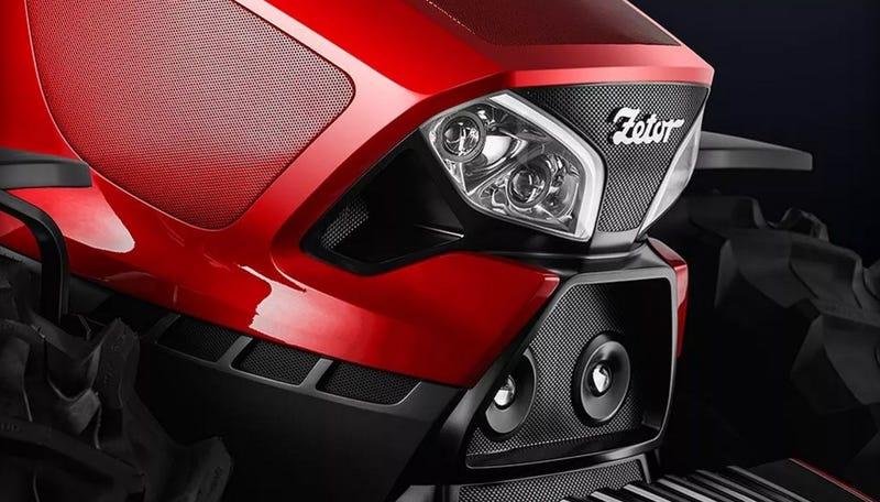 Illustration for article titled Esto es lo que pasa cuando los creadores de los Ferraris más míticos diseñan un tractor