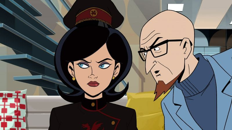Illustration for article titled Hank goes on a date and Blue Morpho strikes again on The Venture Bros.
