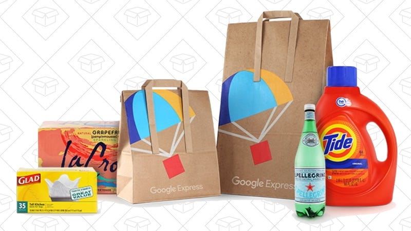 $40 Google Express Voucher, $12 with code HURRY20