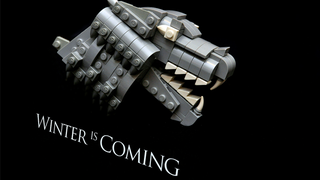 Illustration for article titled Game Of Thrones House Sigils, Made Out Of Lego
