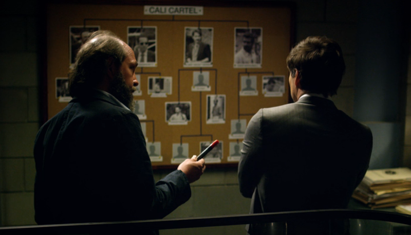 Eric Lange, Pedro Pascal (Screenshot: Netflix)