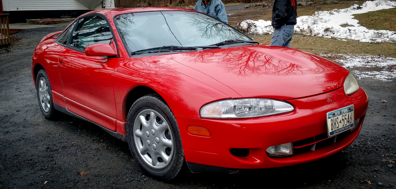 Illustration for article titled Here's How I Bought A Super Rare Stock Mitsubishi Eclipse GSX