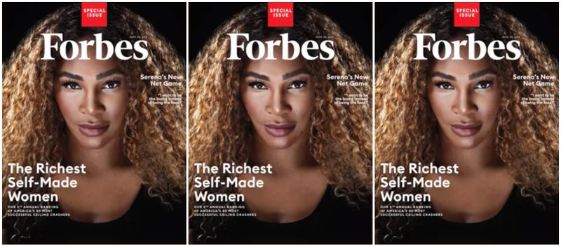 Illustration for article titled Serena Williams Is the First Athlete to Make Forbes' List of the World's Richest Self-Made Women—By Investing in Herself