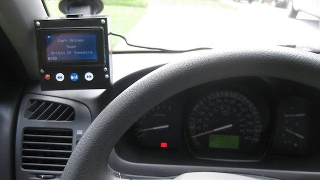 Build your own dashboard ipod controller with an arduino