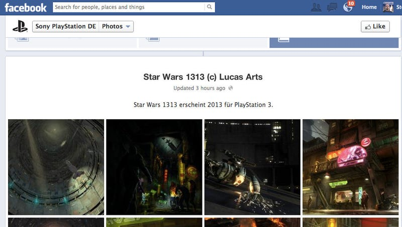 Illustration for article titled PlayStation Germany Lists Seemingly Next-Gen Star Wars 1313 For PS3 [UPDATE: Not anymore!]