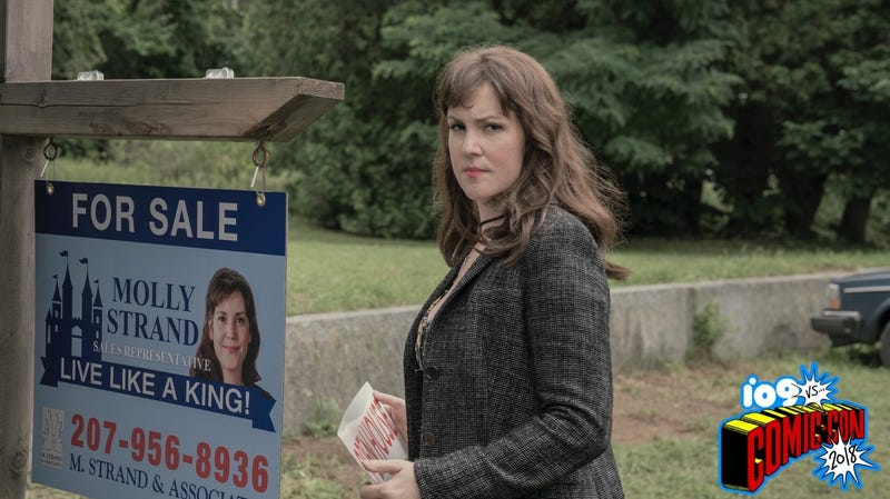 Melanie Lynskey stars as troubled real estate agent Molly Strand.