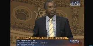 Dr. Ben CarsonC-Span screenshot