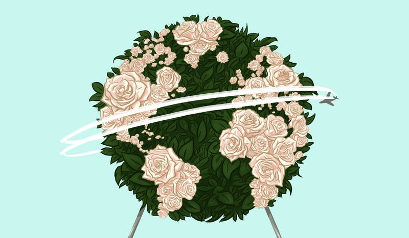 Illustration for article titled Funerals for My Mother, All Around the World