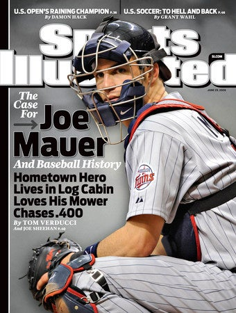 Illustration for article titled Tom Verducci Has Found His Latest Anti-Drug Mascot: Joe Mauer