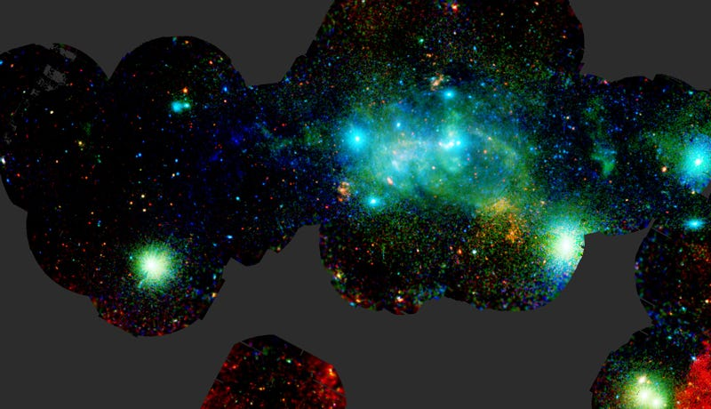Illustration for article titled This is an X-Ray View of What's Happening at the Center of Our Galaxy