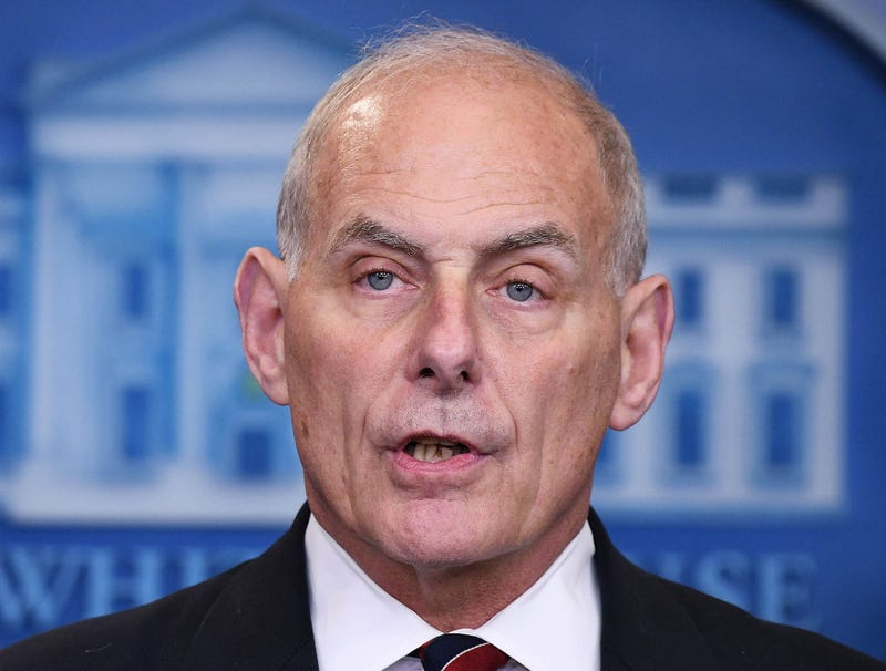Illustration for article titled John Kelly Denies Any Knowledge Of Staffer's Misconduct That Will Break In Few Month's Time