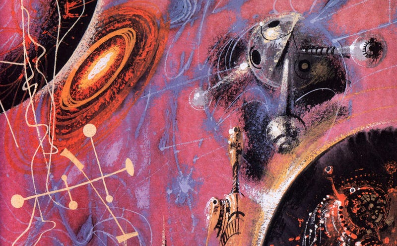 Illustration for article titled How Richard Powers Made Science Fiction Book Covers Strange