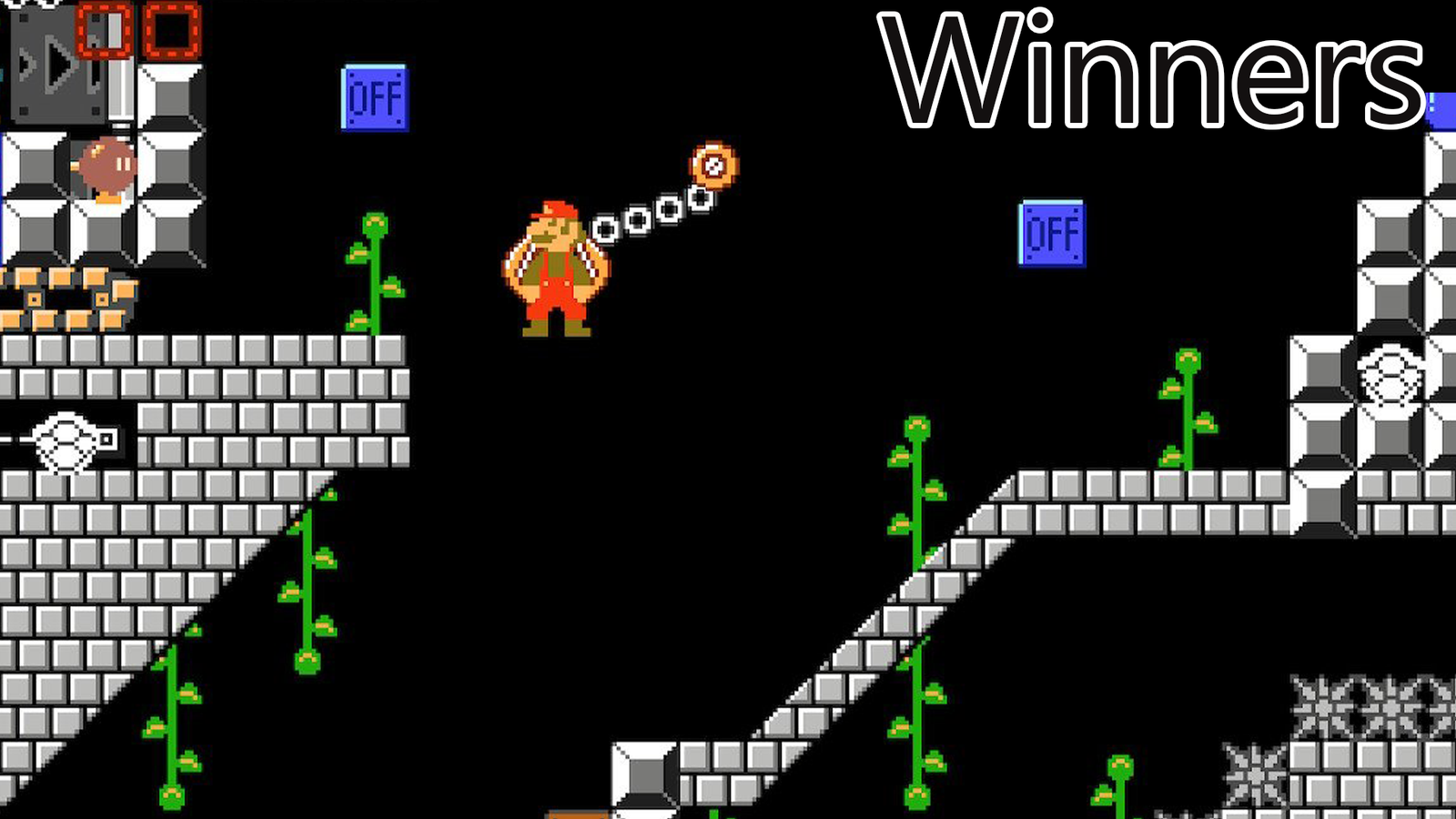 Mario Maker Contest: Pipes, Pipes And More Pipes, Winners!