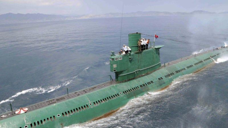 Illustration for article titled Corea del Norte está construyendo una misteriosa red de islas en el Mar Amarillo