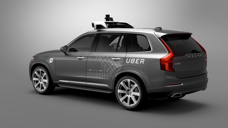 Illustration for article titled Uber Is Bringing A Fleet Of Self-Driving Volvos To Pittsburgh
