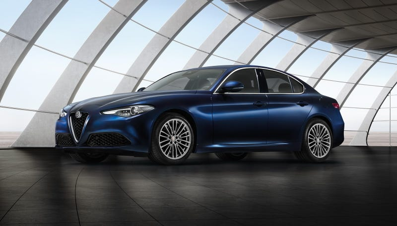 Illustration for article titled The regular Alfa Romeo Giulia: This is it