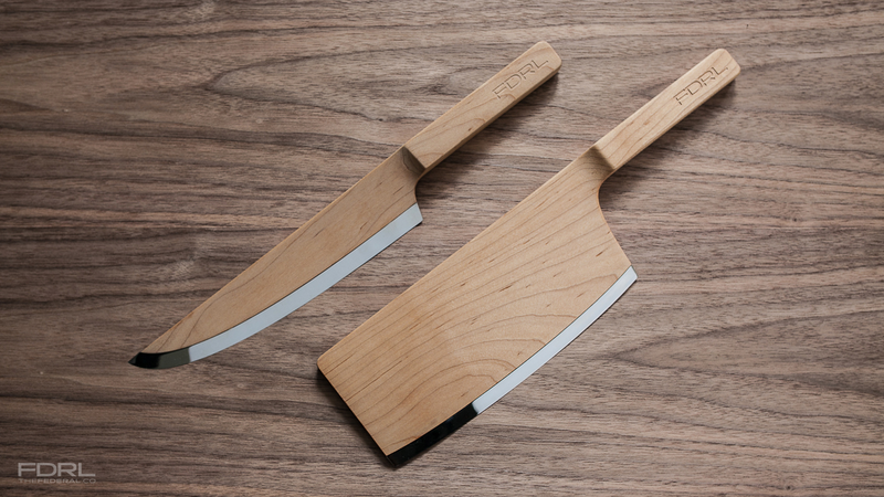 Illustration for article titled These Wooden Kitchen Knives Look Amazing, But Would You Use Them?