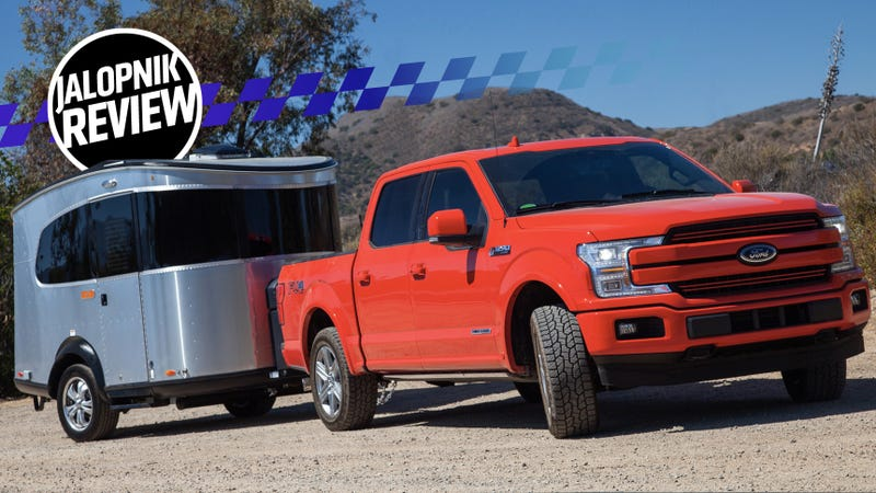 A 2018 Ford F 150 Diesel Pulling An Airstream Basecamp Is The Best