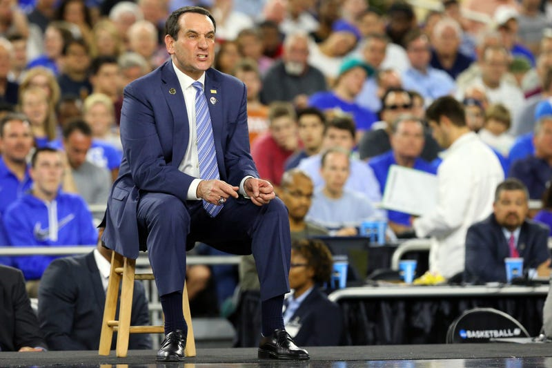 Illustration for article titled Deadcast: Is Coach K The Most Hateable CBB Coach Ever? (Yes.)