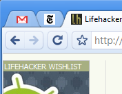 Illustration for article titled Chrome's Pin Tab Feature Shrinks Tabs to Favicons Only