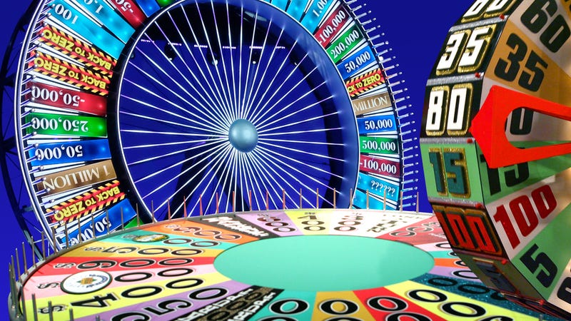 A brief history of spinning: 6 game show wheels