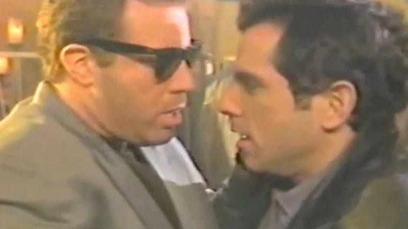 """Illustration for article titled That time Ben Stiller seduced """"Glenn Frey"""" in a vintage SNL short"""