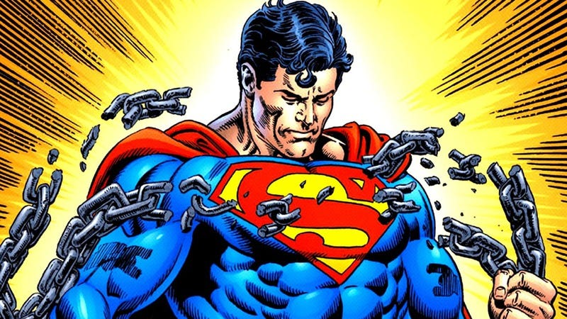 Superman art by Jerry Ordway