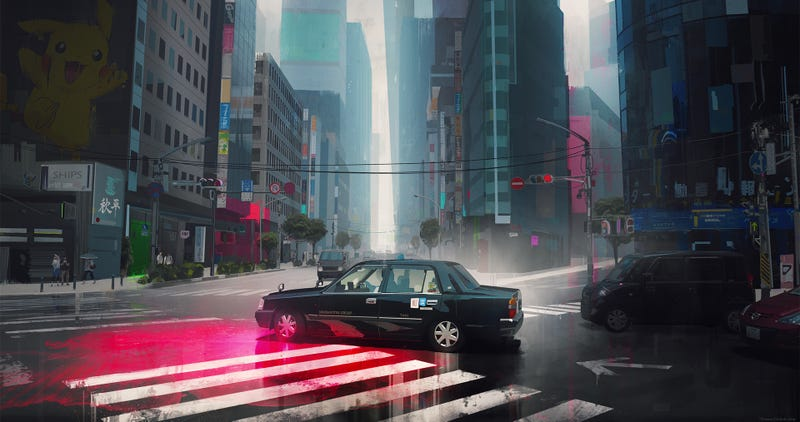 Illustration for article titled Tokyo Streets
