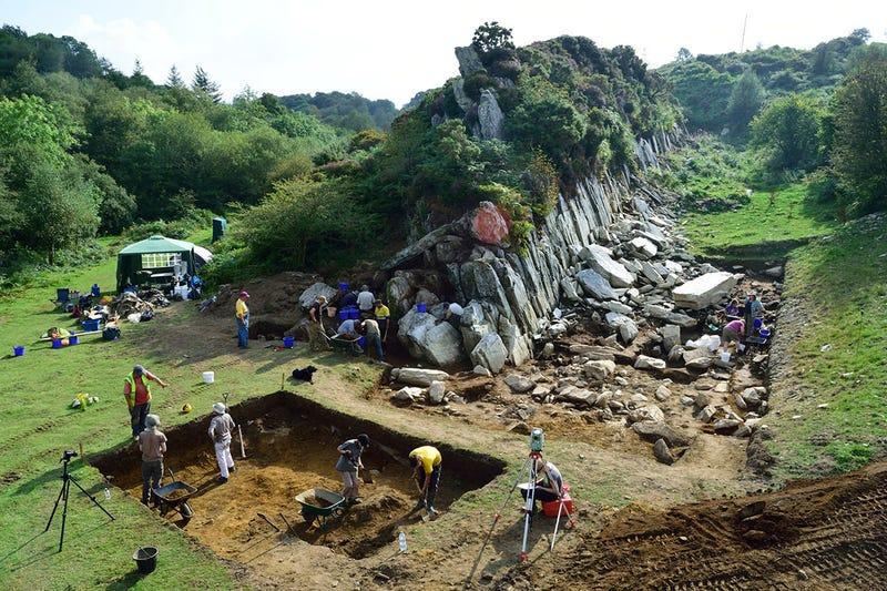 Illustration for article titled La cantera de la que procede Stonehenge apunta la existencia de otro monumento