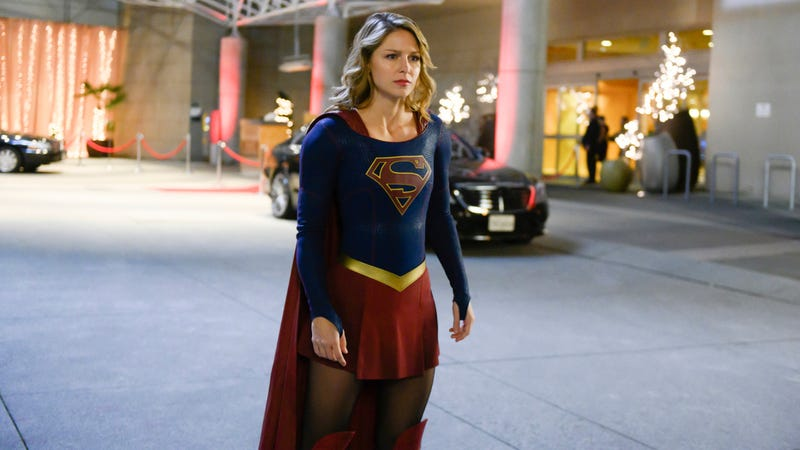 Supergirl celebrates Valentine's Day with a salute to Venom