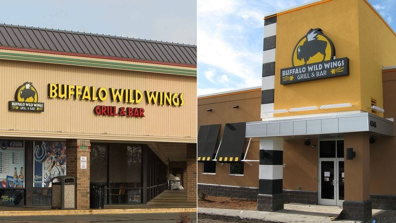 Illustration for article titled Extremely Vibrant Town Able To Sustain Two Buffalo Wild Wings