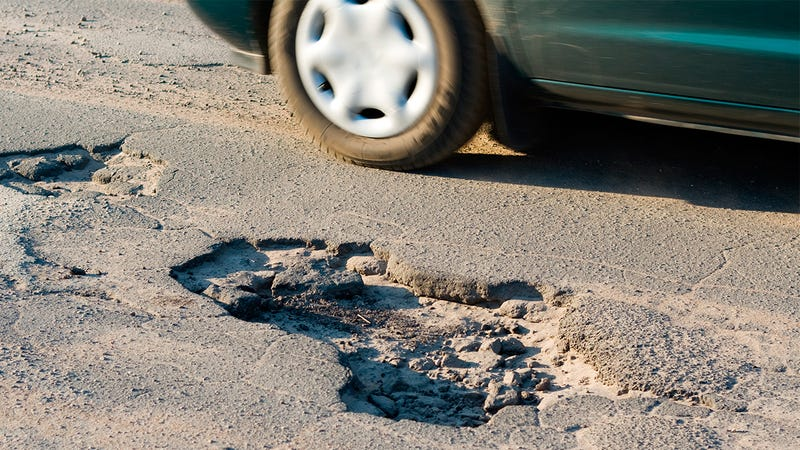 Illustration for article titled Google Wants To Use Your Car's GPS To Track Potholes