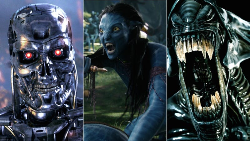 Illustration for article titled Who Wins In A Fight: A Na'vi, The Alien Queen, Or The T-800 Terminator?