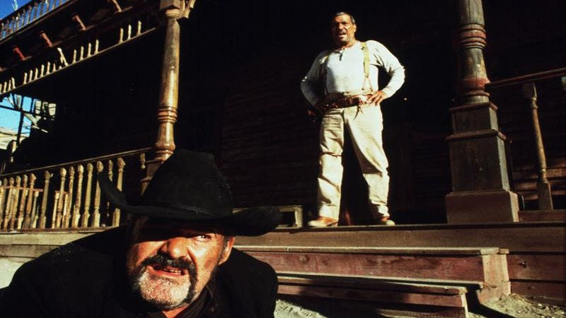 Illustration for article titled If Pedro Almodóvar made a Sergio Leone homage, it might look like this