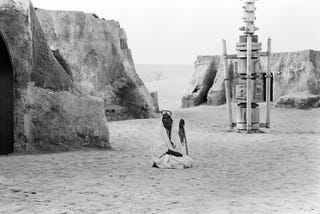 Illustration for article titled A Photographer Rediscovers The Crumbling Remains Of Tatooine