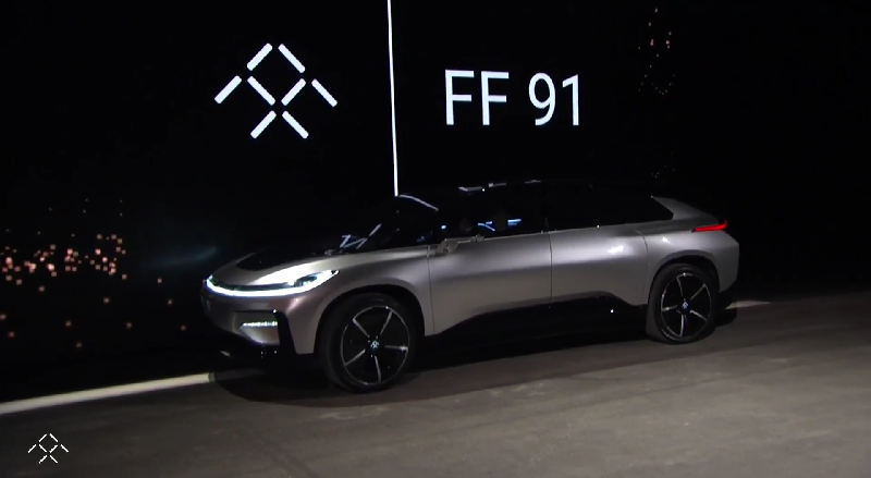 Here s The Flagship Electric Car That Faraday Future Promised