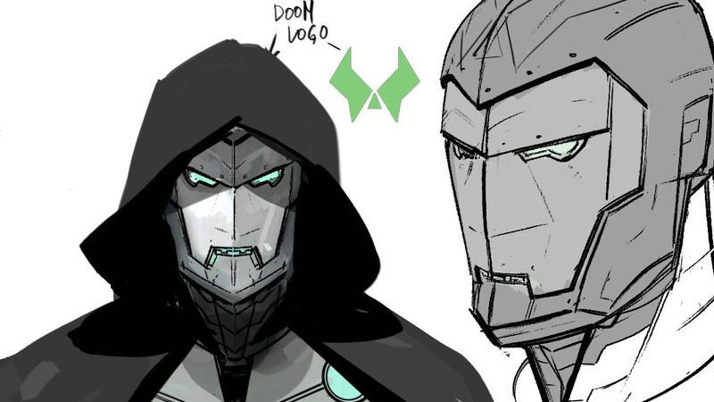 Illustration for article titled Doctor Doom's Iron Man Armor Looks Totally Rad