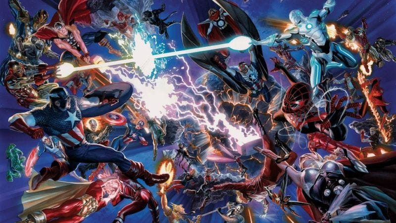 Illustration for article titled Did You Forget What Marvel's Secret Wars Was About? Let Us Remind You!