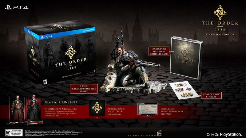 Illustration for article titled The Order: 1886 Special Editions Feature Different Statues