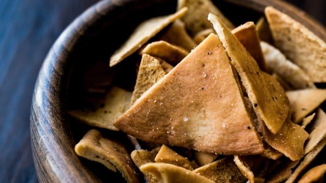 Brush Your Homemade Pita Chips With Honey